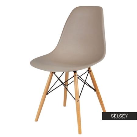 Krzesło Basic kawowe buk