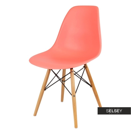 Krzesło Basic living coral buk