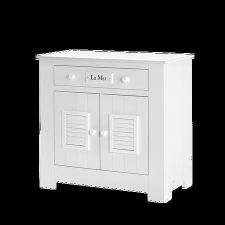 Komoda Marsylia dwudrzwiowa z szufladą