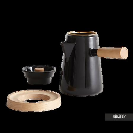 Czajnik do kawy Kettle czarny