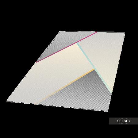 Dywan Youth Geometria jasnoszary