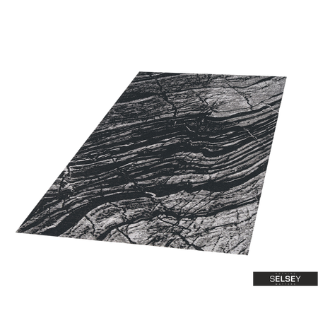 Dywan Basalto dark gray by Maciej Zień