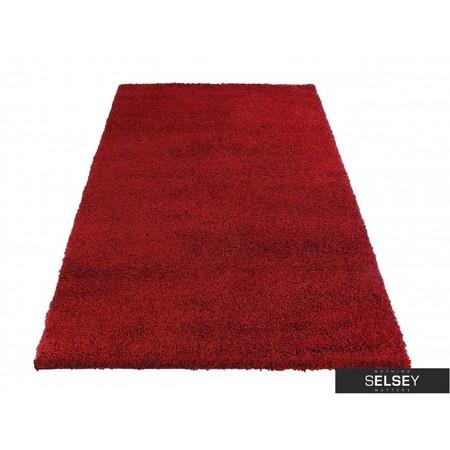 Dywany Shaggy czerwony