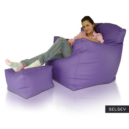 Fotel Classic XXL z podnóżkiem