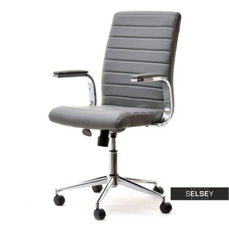 Fotel biurowy Cruz szary obrotowy