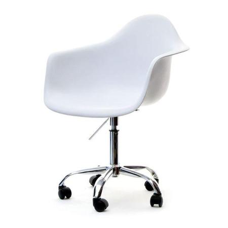 Fotel biurowy MPA move biały do nowoczesnej pracowni