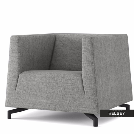 Fotel Soft 15 szary jasny