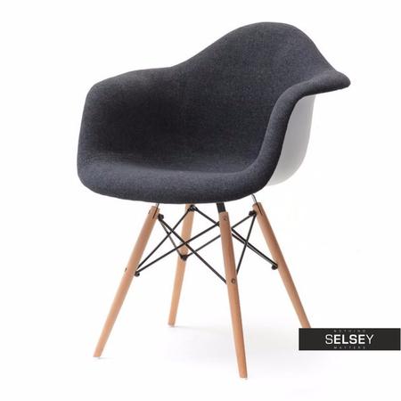 Krzesło MPA wood tap czarne do jadalni