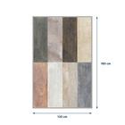 Dywan nowoczesny Grantiver 120x180 cm kolorowy