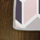 Dywan nowoczesny Efulated 100x200 cm kolorowy