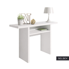 Włoska toaletka - konsola - stół rozkładany Lurdi 120x35-70 cm biały