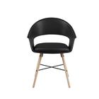 Krzesło Moskal czarne