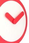 Zegar ścienny Focus średnica 25 cm