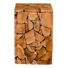 Stołek drewniany Kanzie