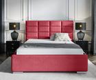 Łóżko Elibin z pojemnikiem na pościel w tkaninie hydrofobowej