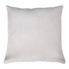 Poduszka dekoracyjna Curlos z podszewką  biały sztruks 45x45 cm