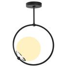 Lampa wisząca nowoczesna Solanum okrągła