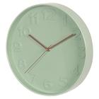 Zegar ścienny Naret zielony średnica 30,5 cm