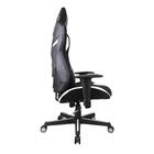 Fotel gamingowy Regeo czarno - biały